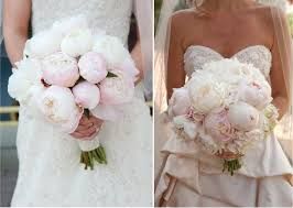 perfect wedding peony bouquet